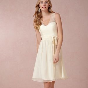 ANTHROPOLOGIE | Quillaree Chiffon Bridal Dress